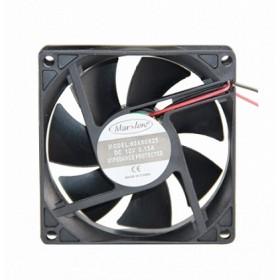 Marxlow, 80x80x25 12VDC 0.15A 2 Kablolu Fan