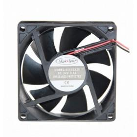Marxlow, 80x80x25 24VDC 0.1A 2 Kablolu Fan