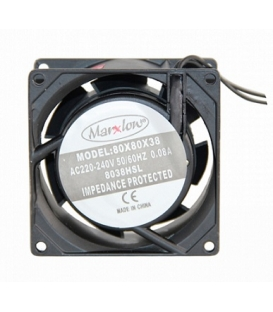 Marxlow, 80x80x38 220VAC 0.08A Fan