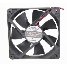 Marxlow, 120x120x25mm 12VDC 0.28A 2 Kablolu Fan