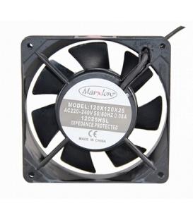 Marxlow, 120x120x25 220VAC 0.08A Fan