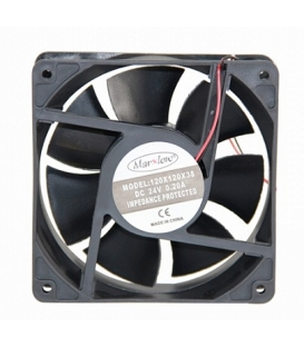 Marxlow, 120x120x38mm 24VDC 0.20A 2 Kablolu Fan
