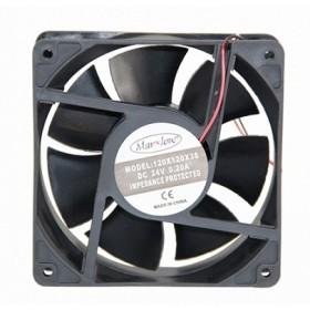 Marxlow, 120x120x38 24VDC 0.20A 2 Kablolu Fan