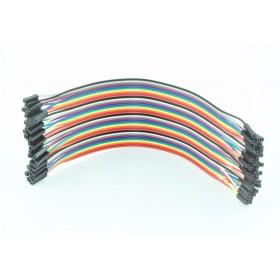 20cm Dişi/Dişi Jumper Kablo