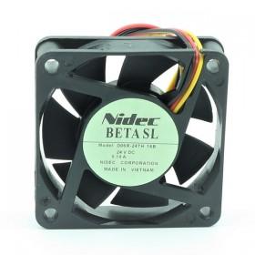 D06R-24TH 16B, 60x60x15mm 24VDC 0.10A FAN