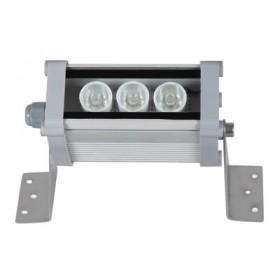 3W 10cm Beyaz 12/24VDC Wallwasher, 5° Açılı