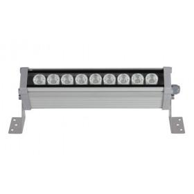 9W 25cm Beyaz 12/24VDC Wallwasher, 10° Açılı