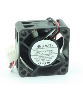 1608KL-04W-B49, 40x40x20mm 12VDC 0.12A 3 Kablolu Fan