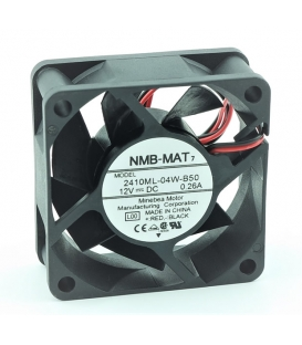 2410ML-04W-B50, 60X60X25mm 12VDC 0.26A 2 Kablolu Fan