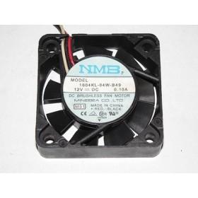 1604KL-04W-B49, 40x40x10mm 12VDC 0.10A 3 Kablolu Fan