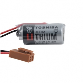 ER3V, Toshiba 3.6V Lithium Pil (Kahverengi Soket)