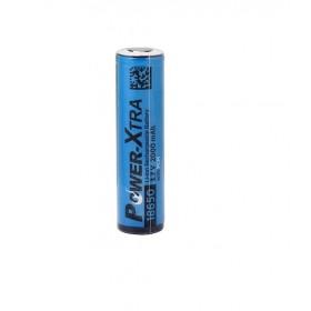 Power-Xtra, 3.7V Li-ion 18650 2000 mAh Şarjlı Pil (Devreli)