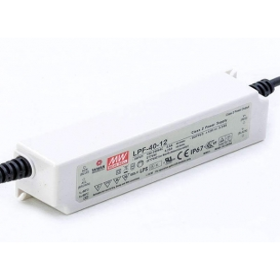 LPF-40-36, 36VDC 1.12A Voltaj Ayarlı LED Sürücü, Mean Well