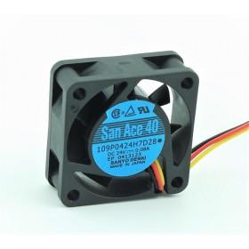 109P0424H7D28, 40x40x15 24VDC 0.08A Fan