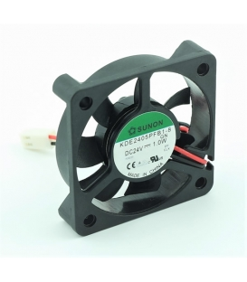 KDE2405PFB1-8, 50x50x10mm 24VDC 1.0W 2 Kablolu Fan