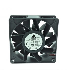 PFB1224UHE, 120X120X38mm 24VDC 2.40A 2 Kablolu Fan