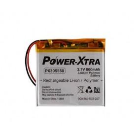 PX305550, Power-Xtra 3.7V 800mAh Li-Polymer Pil (Devreli/1.5A)