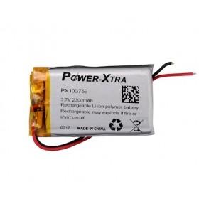 PX103759, Power-Xtra 3.7V 2300mAh Li-Polymer Pil