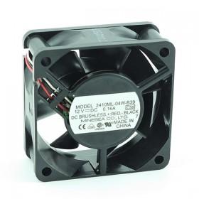 2410ML-04W-B39, 60X60X25mm 12VDC 0.16A 3 Kablolu Fan