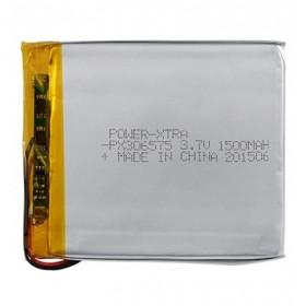 PX306575, Power-Xtra 3.7V 1500mAh Li-Polymer Pil