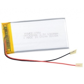 PX305086, Power-Xtra 3.7V 1300mAh Li-Polymer Pil