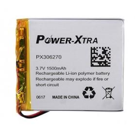 PX306270, Power-Xtra 3.7V 1500mAh Li-Polymer Pil