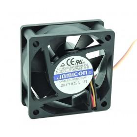 JF0625S1LS-R, 60x60x25mm 12VDC 0.17A 3 Kablolu Fan