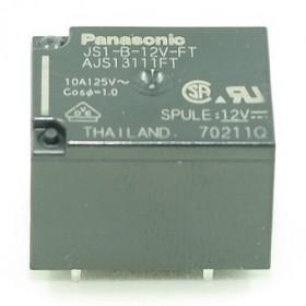 JS1-B-12V-FT, 10A 12VDC, 1 Form C Röle