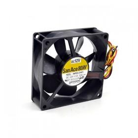 SanAce 9WP0812H401, 12VDC 0.13A 3 Kablolu Fan