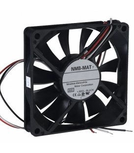 3106KL-05W-B59, 80x80x15mm 24VDC 0.16A 3 Kablolu Fan