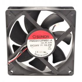 PMD2412PMB1-A(2).GN, 120x120x38mm 24VDC 18.2W 2 Kablolu Fan