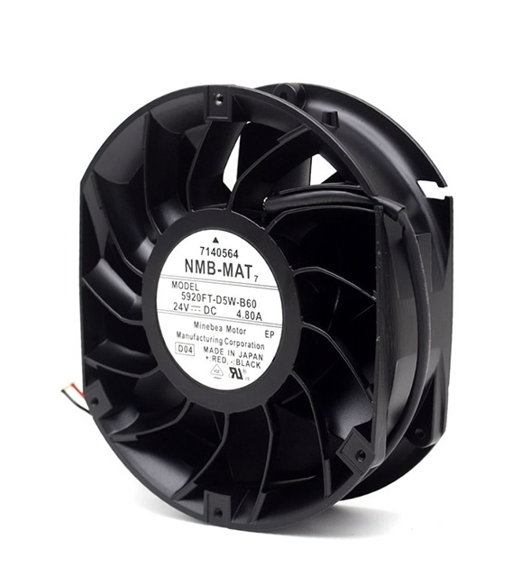 5920FT-D5W-B60, 172x150x51mm 24VDC 4.8A 2 Kablolu Fan