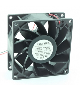 3615RL-05W-B40, 92X92X38mm 24VDC 0.73A 2 Kablolu Fan