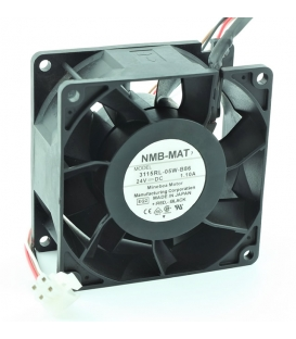 3115RL-05W-B86, 80x80x38mm 24VDC 1.10A 4 Kablolu Fan