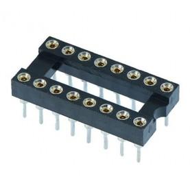 16 Pin (2x8) Precision Entegre Soketi