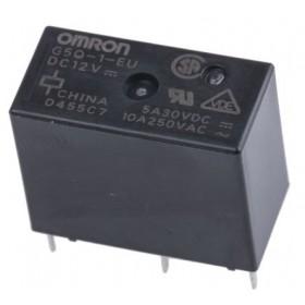 G5Q-1-EU-DC12, 12VDC 10A SPDT 1 Form C Röle