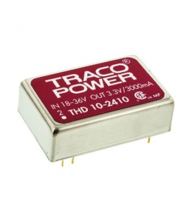THD 10-2410, 18-36Vin 3.3Vout 10W DC/DC, Traco Power