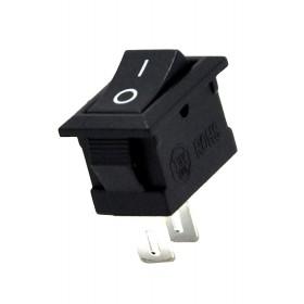 AF125B, Mini Anahtar (S) Yükseltici 0-1 Siyah