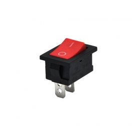 AF120A, Yükseltici Anahtarı 0-1 2P Kırmızı