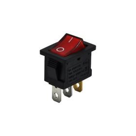 AF118-K, Yükseltici Anahtarı Işıklı 3P 0-1 Kırmızı