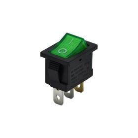 AF118-Y, Yükseltici Anahtarı Işıklı 3P 0-1 Yeşil