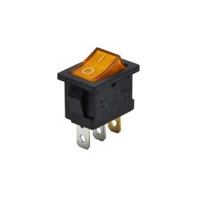 AF118-SA, Yükseltici Anahtarı Işıklı 3P 0-1 Sarı