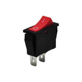 AF114-K, Tekli Dar Işıksız Anahtar 2P Kırmızı