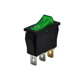 AF113-Y, Tekli Dar Işıklı Anahtar Yeşil