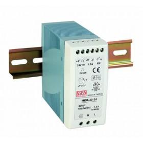 MDR-40-48, 48VDC 0.83A Ray Montaj Güç Kaynağı, MeanWell