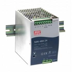 SDR-480-48, 48VDC 10.0A Ray Montaj Güç Kaynağı, MeanWell