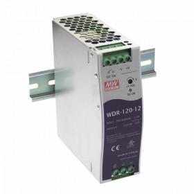 WDR-120-48, 48VDC 2.5A Ray Montaj Güç Kaynağı, MeanWell