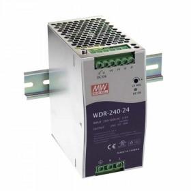 WDR-240-48, 48VDC 5.0A Ray Montaj Güç Kaynağı, MeanWell