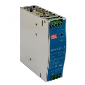NDR-120-48, 48VDC 2.5A Ray Montaj Güç Kaynağı, MeanWell