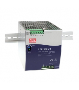 TDR-960-48, 48VDC 20.0A Trifaze SMPS, MeanWell